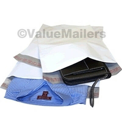 300 - 24x24 WHITE POLY MAILERS ENVELOPES BAGS 24 x 24