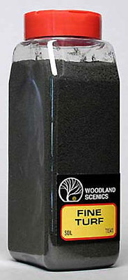 NEW Woodland Scenics Turf Fine Soil 32 oz T1341