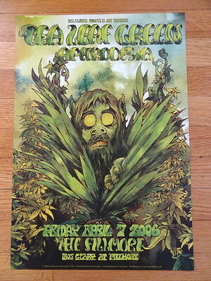 TEA LEAF GREEN aphrodesia fillmore CONCERT POSTER collectible 13 x 19
