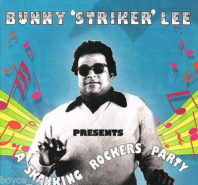 LP : VARIOUS-bunny 'striker' lee presents a skanking rockers party  (hear)