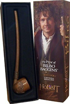 The Hobbit The Pipe of Bilbo Baggins Working Replica Lord of the Rings
