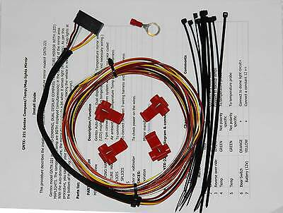 new rearview mirror plug play wiring harness homelink others gentex gntx 221 227 auto dimming map lights rear view mirror wire wiring harness