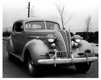 1937 Hudson Eight Coupe Factory Photo uc4615