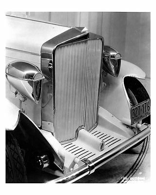 1931 Hudson Convertible Sedan with Murphy Body Factory Photo uc4635