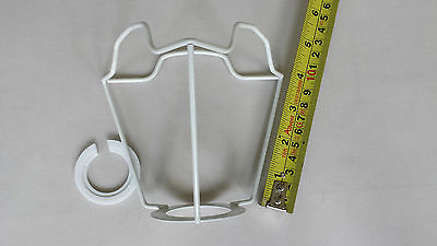 """4"""" Es..gimble  Shade  Carrier ..to Support A Shade With A Duplex Fitting ."""