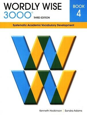 Wordly Wise 3000 3rd Ed Student Book 4 +answers-FREE Expedited Upgrade with $45