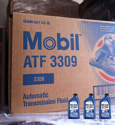 Mobil (112610-12PK) 3309 Automatic Transmission Fluid - 1 Quart, (Pack of 12)
