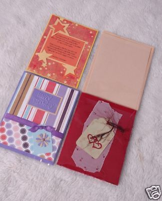 Stampin Up Handmade Card organizer Pocketz Pages holds 160 A2 cards (4p/1pkt)