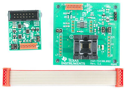 TEXAS INSTRUMENTS MSP430 eZ430-RF2500 Target Board with Battery pack