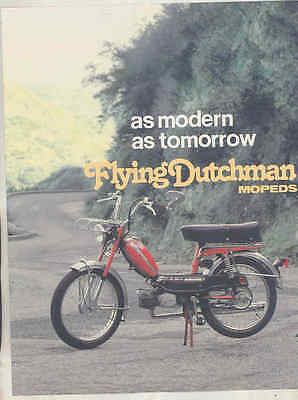 1978 Flying Dutchman 50 Moped Brochure wt8913