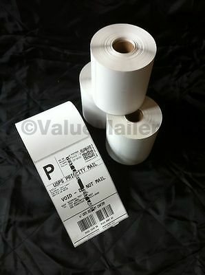 10 - 500 Rolls 4x6 Direct Thermal Labels Self Adhesive Premium Twice 250 count
