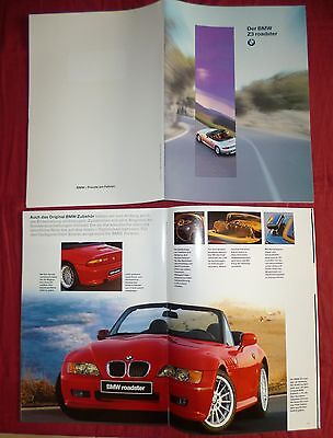 N°4370 / catalogue BMW Z3 roadster   1995  deutsch text
