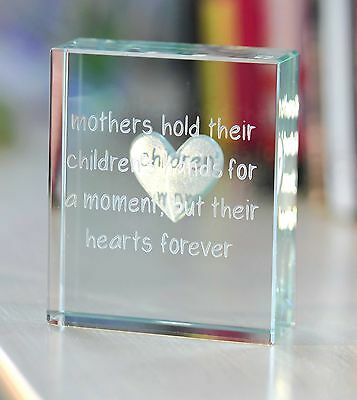 Spaceform Mothers Glass Token Birthday Gift Ideas For Mum Mom Her 1744