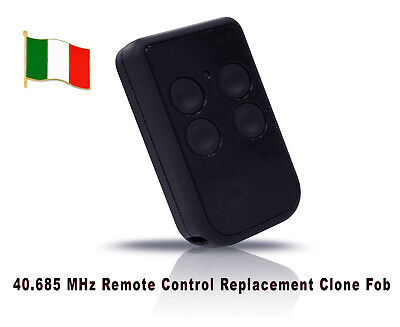 Quality Italian Remote Control Copying 40.685mhz 4channel Fixed Code COPIES 100%