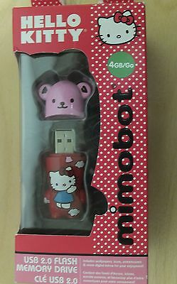 Mimobot Hello Kitty Balloon 4GB USB 2.0 Flash Drive (Red/Pink)