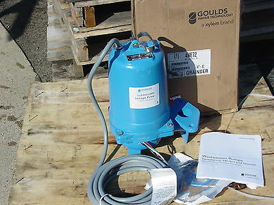 Goulds Ws1032Bhf Sewage Pump 1 Hp 3 Phase 230Volt New
