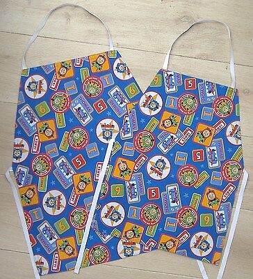 Childrens Cotton Thomas the Tank Engine Aprons (Age 4 - 6 or 6 - 8 years)
