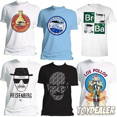 Breaking Bad Mr Heisenberg Jesse Pinkman Original Logo Männer Men Fan T-Shirt