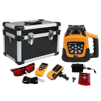 500m Range Self-leveling Laser Level Red Colour Beam  Auto Rotary Rotating