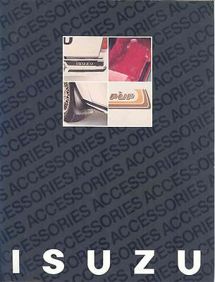 1982 Isuzu Accessories Brochure I-Mark & Pickup Truck mx1911-CCME83