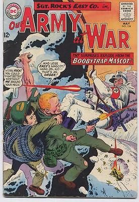 DC Our Army At War #154 Easy Company Sgt Rock Boobytrap Mascot Action Adventure