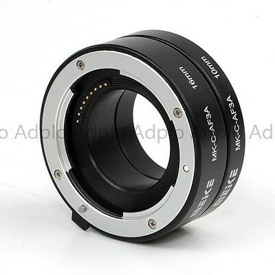 Automatic Auto Focus Macro Electronic Extension Tube Set for CANON EOS-M Camera