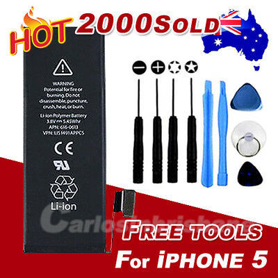 For iPhone 5 5G OEM Genuine Original internal Battery replacement