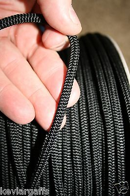 5mm X 50 FEET New England Accesory Cord rope Color is Solid BLACK