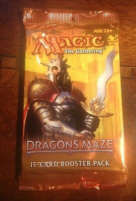 Magic MtG Dragon's Maze Booster Pack - BRAND NEW FACTORY SEALED Cards