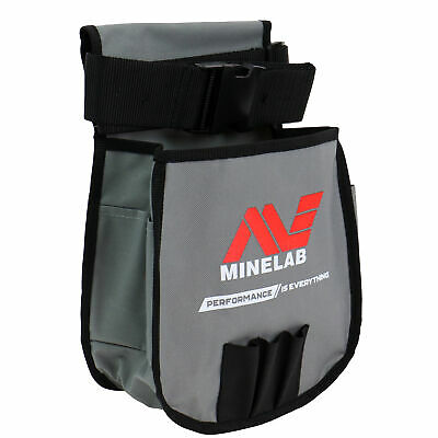 Minelab Metal Detector Finds Pouch in Grey & Black for Tools and Finds 9999-0076