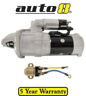Brand New Starter Motor to fit Nissan UD 5.7L Diesel 1976 to 1990