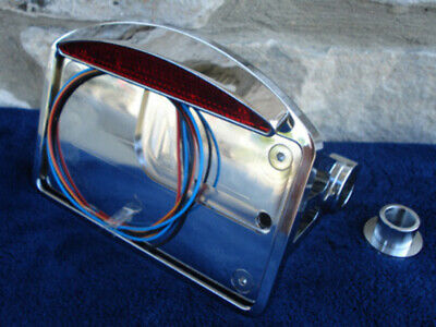 Snake Eye Taillight & License Plate For Harley Choppers