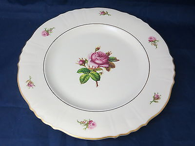 "SYRACUSE CHINA - Victoria - Rose Center - 10"" diam DINNER PLATE - 35A"