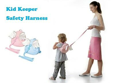 Brand New Kids Keeper Baby Toddler Safety Harness Walking Assist Angel Backpack