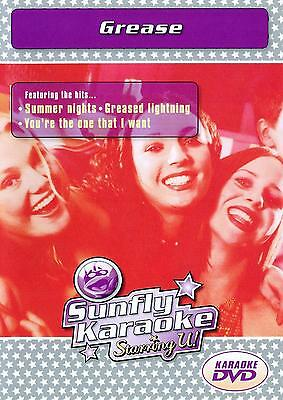 Sunfly Karaoke DVD - Grease (DVD) - DIRECT FROM SUNFLY