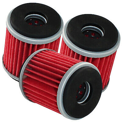 3 Pack Oil Filter YAMAHA RAPTOR 250 SPECIAL EDITION 2008 2009 2010 2011-2013