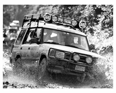 1994 Land Rover Discovery Photo Poster La Ruta Maya Expedition zuc5084