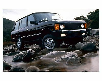 1995 Range Rover County LWB Photo Poster zuc5089