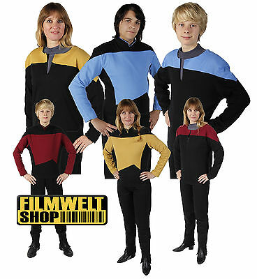 STAR TREK  Uniform - Next Generation - DS9 - Voyager S-XXXL - Filmwelt Berlin
