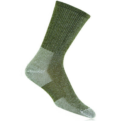 Thorlo Mens Green Ultra Light Hiker Crew Outdoors Sports Walking Hiking Socks