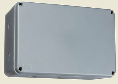 MLA JB0010 Plastic Weatherproof Enclosure Project Case Electrical Junction Box