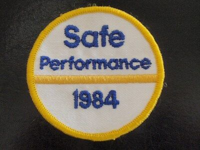 Mobil Gas Patch - Safe Performance 1984