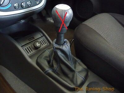 For Vauxhall Opel Corsa Mkii C 2000-2006 Gearstick Gaiter Leather Cover Boot New