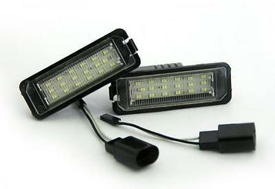 VW Volkswagen New Beetle 2010- 18 SMD LED Number License Plate Replacement Units