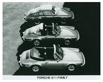 1985 Porsche Family Automobile Photo Poster zch3703