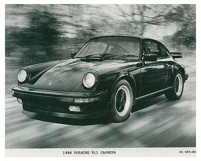 1984 Porsche 911 Carrera Automobile Photo Poster zch3694