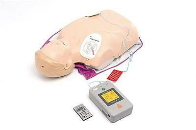 AED Little Anne Defibrillator CPR HLW Übungspuppe Trainingssystem