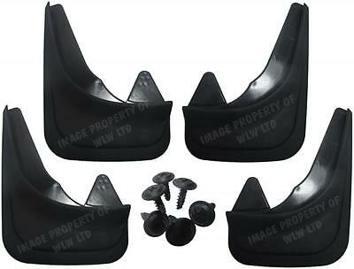 Rubber Moulded Universal Fit MUDFLAPS Mud Flaps for Alfa Romeo 145,146,155,156