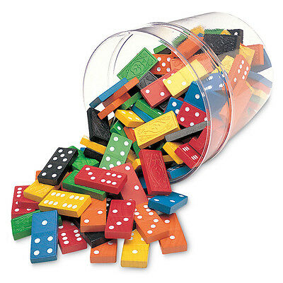 Learning Resources Double Six Dominoes in a Bucket