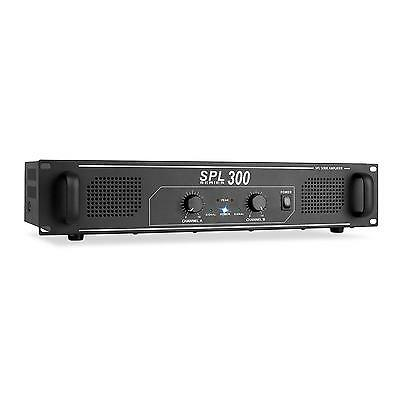 Amplificador Audio Dj Pa 300W Potencia Rca Cd Mp3 Ampli Sonido Hifi Rack 48Cm